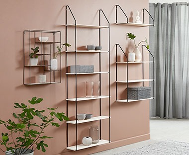 HEJLSMINDE shelves