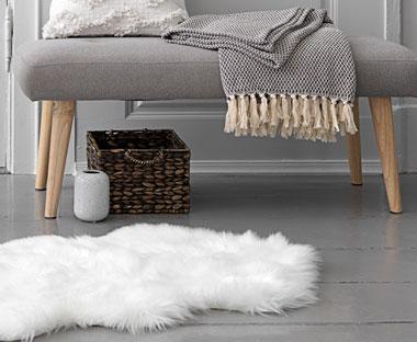 Ekstra Skinn - Dyreskinn og Imitert lammeskinn | JYSK UR-39