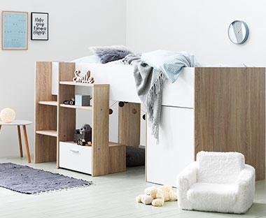 Nytt Køyesenger og brikser - Sengeløsninger til barnerommet | JYSK YD-54