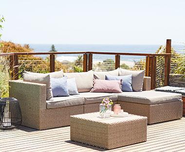 Fra mega Loungesett - Se våre flotte og behagelige loungesett |JYSK QW-93