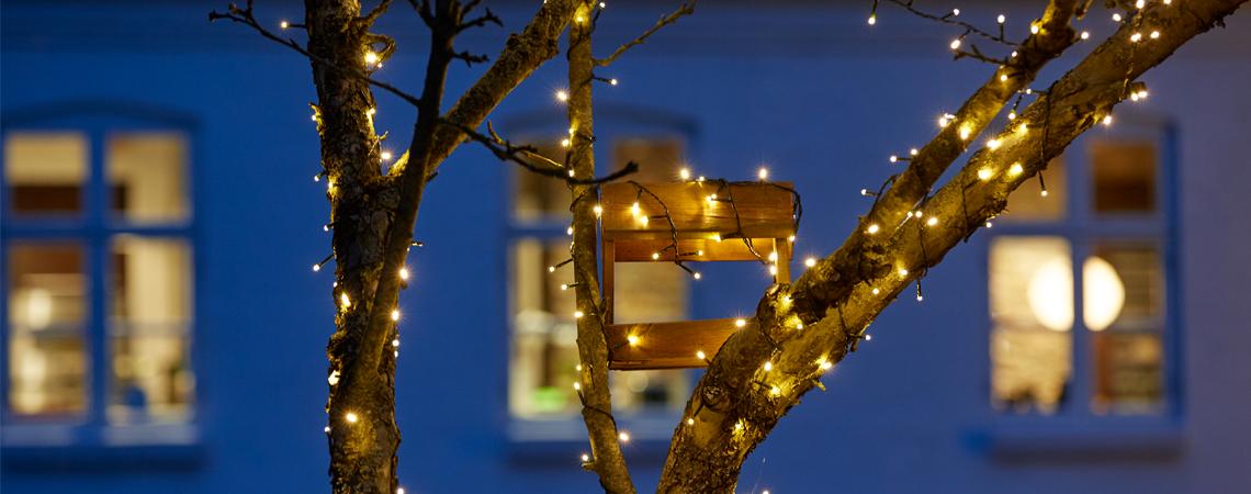 Siste 8 tips for vakker og trygg julebelysning | JYSK IP-25