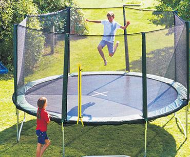 Forskjellige Trampoliner - Rimelige trampoliner og sikkerhetsnett | JYSK SG-85