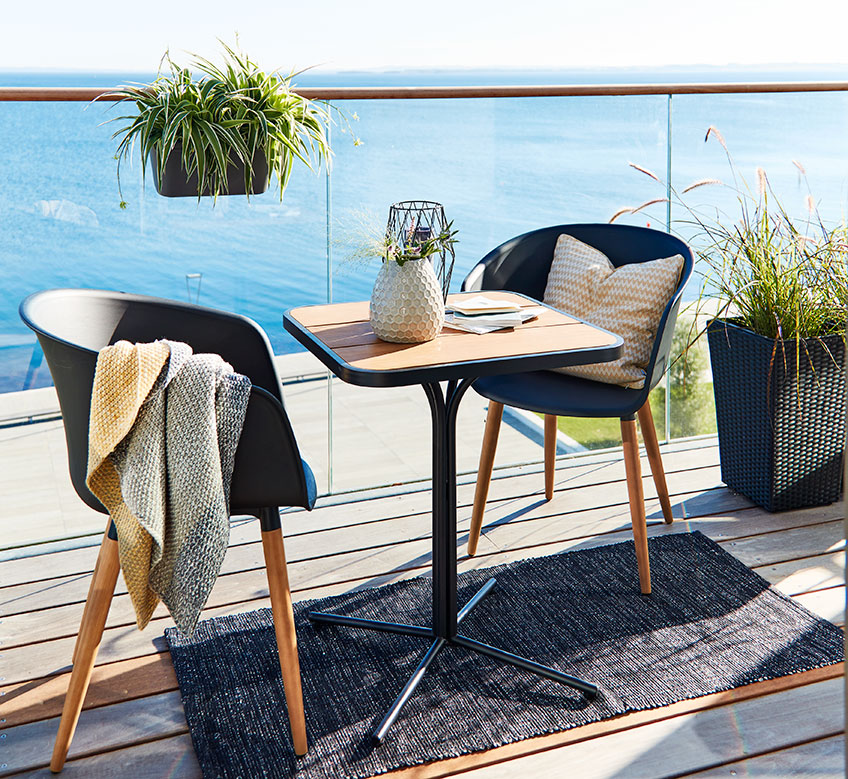 Alle nye Skap en koselig og avslappet balkong | JYSK HU-36