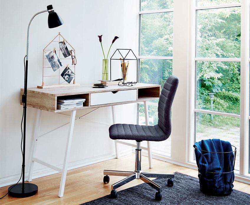 Lag et hjemmekontor i stuen – et rom flere muligheter | JYSK